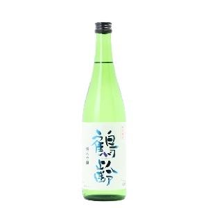 鶴齢 純米吟醸   青木酒造720ml  [1632]
