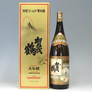 賀茂鶴 ゴールド DX 化粧箱詰 1800ml  [26]