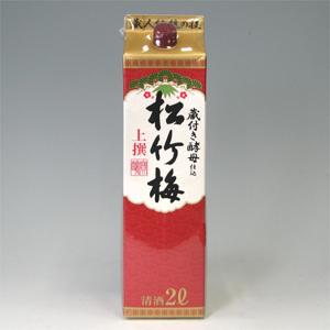 松竹梅 酒パック 上撰 2L  [406]