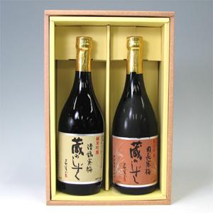 高槻地酒 蔵のしずく詰合わせ純米吟醸 720ml×2本  [711669]