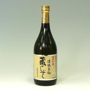 清鶴寒梅 蔵のしずく(酒度±0 酸度1.4) 720ml  [71611]