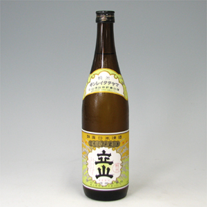 銀嶺立山 純米酒 720ml  [71683]