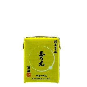 玉乃光 酒魂 純米吟醸 パック 180ml  [72310]