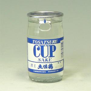 土佐鶴 ツルカップ 青 180ml 高知県  [72459]