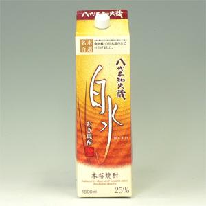 キリン 白水 麦焼酎 25°パック 1.8L  [74512]
