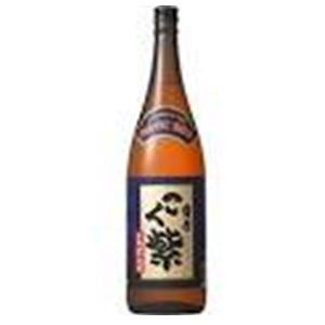 アサヒ 薩摩こく紫 芋焼酎 25゜ 1.8L  [76127]