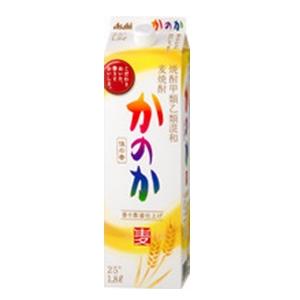 佳の香 麦焼酎  パック 25゜  1.8L  [76140]