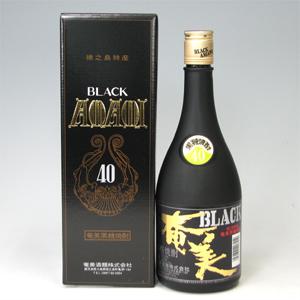 奄美 ブラック奄美 黒糖焼酎 40゜ 720ml  [76191]