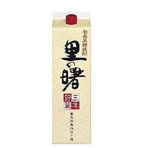里の曙  黒糖焼酎 25゜パック 1800ml  [76197]