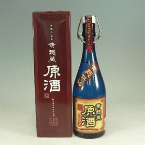 黄麹蔵 原酒 37°(国分酒造) 720ml  [76254]