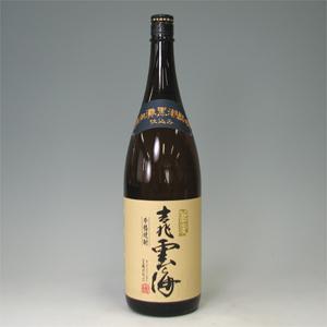 吉兆雲海 そば焼酎 25゜ 瓶 1.8L  [76461]