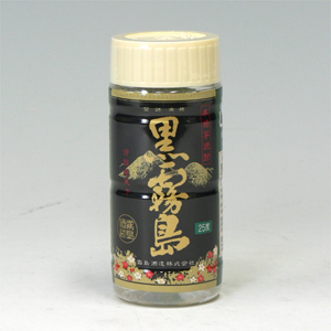 黒霧島 (芋焼酎) 25゜ペット  200ml  [76527]