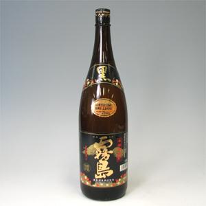 黒霧島 (芋焼酎) 25゜ 瓶 1.8L  [76537]