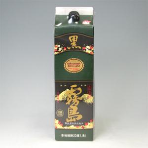黒霧島 芋焼酎 20゜パック 1.8L  [76539]