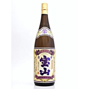 紫薩摩宝山 芋焼酎 25゜   1.8L  [76771]