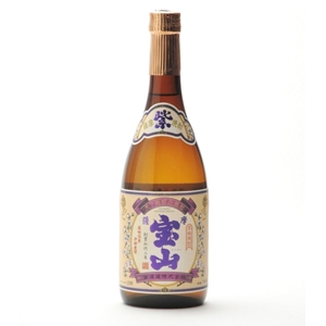 紫薩摩宝山 芋焼酎 25゜   720ml  [76778]