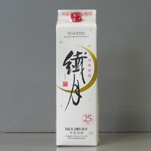 繊月 米焼酎 25° パック    1.8L  [76975]