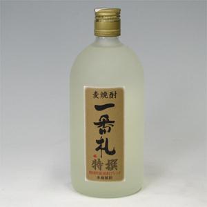 アサヒ 一番札 特撰 麦焼酎 25゜ 720ml  [77014]