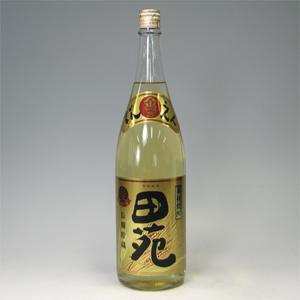 田苑 麦貯蔵 金ラベル 焼酎焼酎 瓶25゜1.8L  [77073]