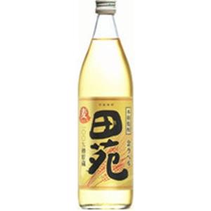 田苑 麦貯蔵 金ラベル 瓶25゜900ml  [77079]