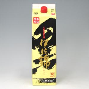 伊佐錦 黒 25゜ 芋焼酎 パック 1800ml  [77091]