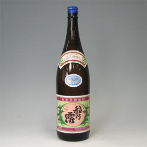 稲の露 30゜ 黒糖焼酎 1800ml  [77129]
