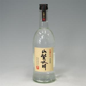 山紫水明 麦焼酎 黒麹仕込み 25°720ml  [77149]