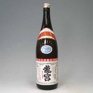 龍宮 かめ仕込 黒糖焼酎 30° 富田酒造場1.8L  [77166]