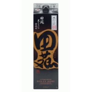 田苑 芋焼酎 黒麹仕込み25゜パック1.8L  [77196]