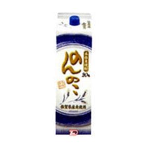 のんのこ 麦焼酎 20° パック 1.8L  [77210]