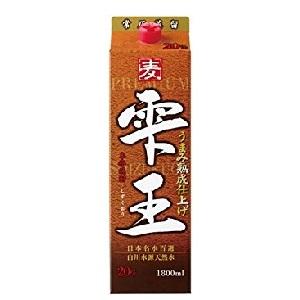 高千穂 雫王 麦焼酎 25゜パック 1.8L  [77286]