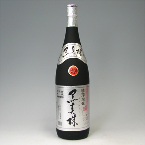 黒真珠 43゜ (八重泉) 1.8L  [77480]