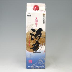 海童 芋焼酎 25゜パック 浜田酒造1.8L  [78018]