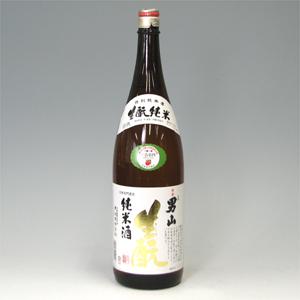 男山 きもと純米 1800ml   [786]
