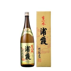 浦霞 特別純米 生一本   1.8L  [809]