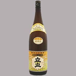 銀嶺立山 純米酒 1.8L  [943]